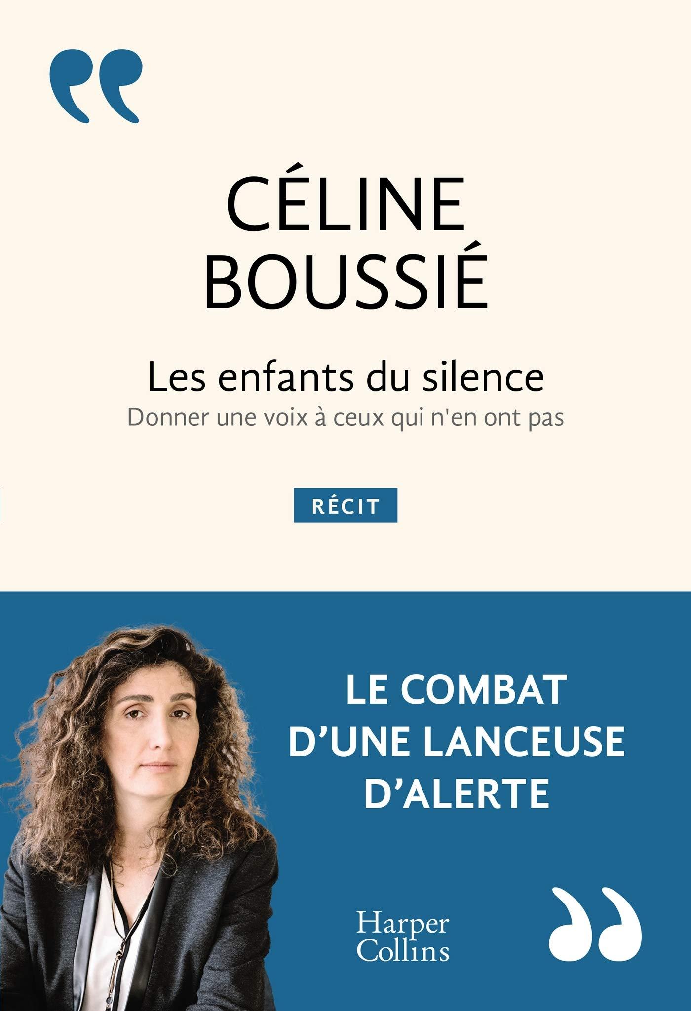 Couverture livre les enfants du silence par Céline Boussié