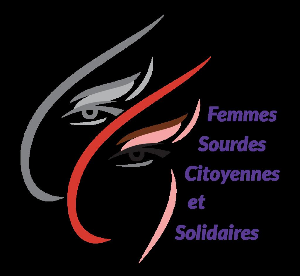 Logo de l'association des Femmes Sourdes Citoyennes et Solidaires