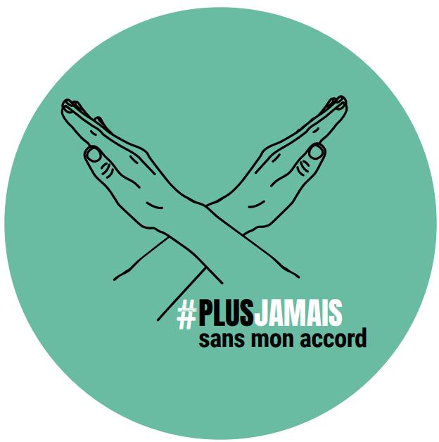 Logo campagne #PlusJamaisSansMonAccord