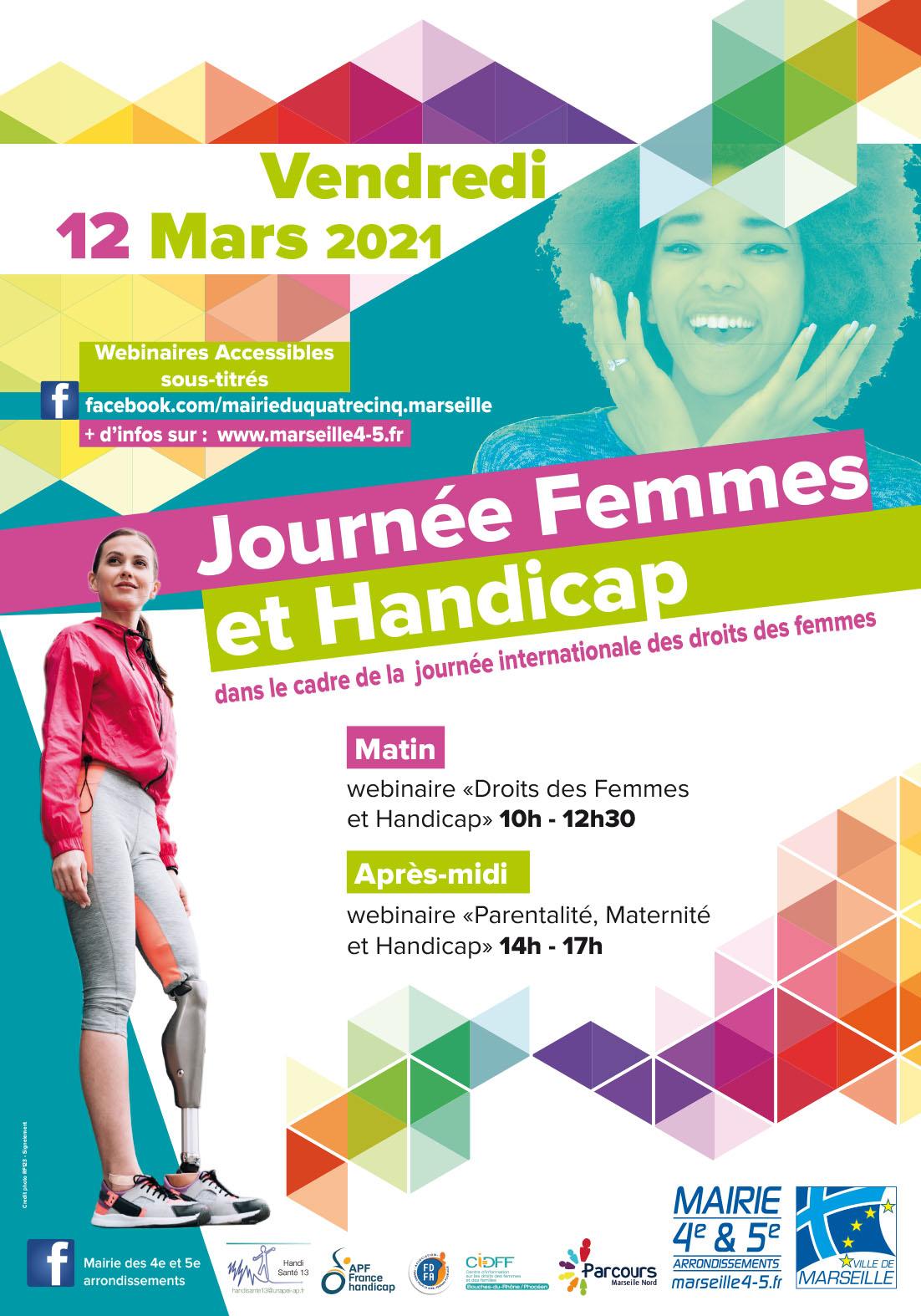Affiche Femmes et handicap