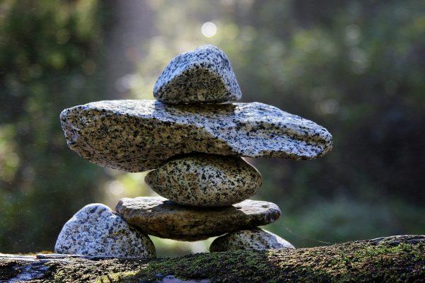 Empilement de pierres